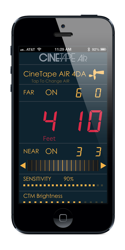 Cine Tape AIR App